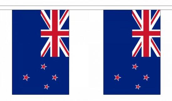 Luxe Nieuw Zeeland vlaggenlijn 9 m