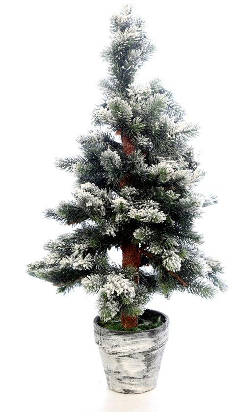 bol.com | Everlands Toronto Snowy Mini Kunstkerstboom - 60 cm hoog ...