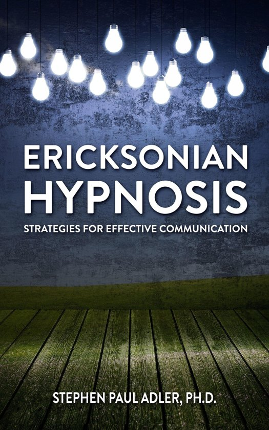 ericksonian hypnosis Ericksonian hypnosis training teaches us to speak and listen to the unconscious with indirect suggestions allowing the unconscious to actively participate.