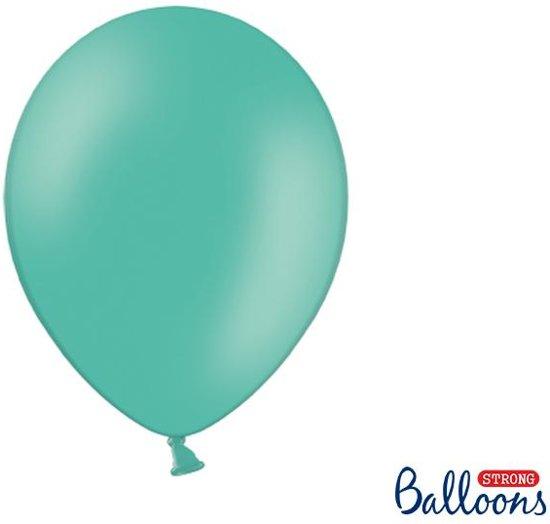 """""""""""""""Strong Ballonnen 30cm, Pastel Aquamarine (1 zakje met 100 stuks)"""""""""""""""