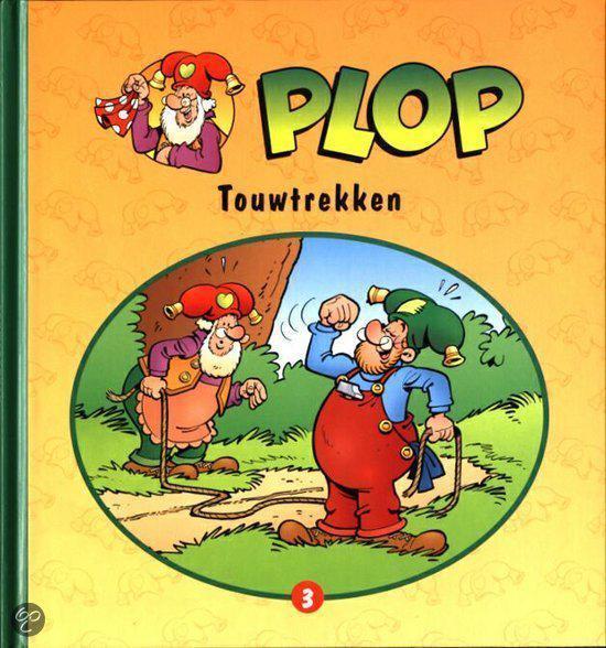 Boek cover Plop 3 - Touwtrekken van D. Verbiest (Hardcover)