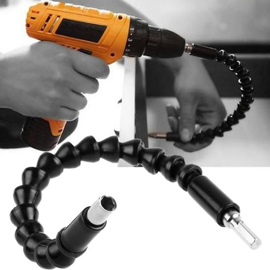 Flexibele bithouder - 290mm 1/4 elektrische boor