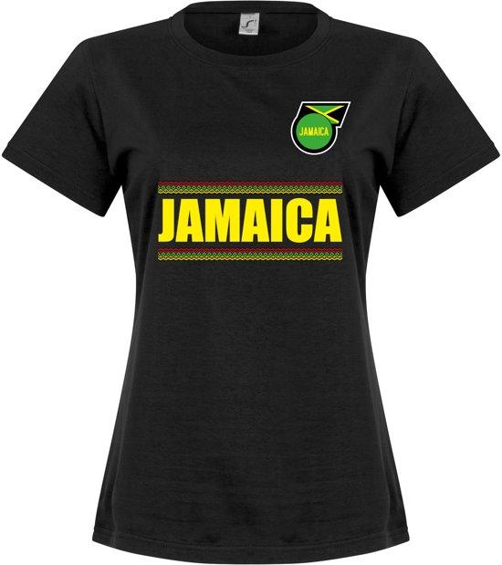 Jamaica L Team Dames T shirtZwart vOmwPNy0n8