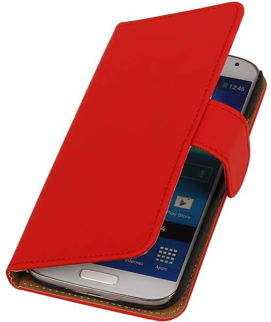 Wicked Narwal | bookstyle / book case/ wallet case Hoes voor BlackBerry Z10 Rood