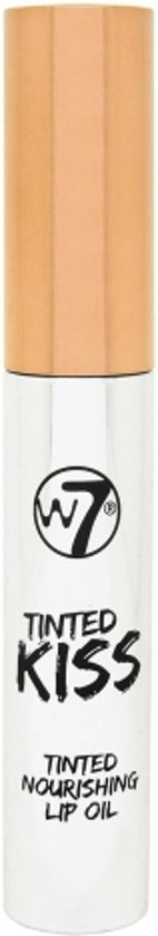W7 Tinted Kiss Tinted Nourishing Lip Oil English Rose