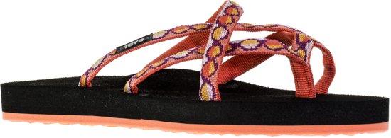 234598f22589a Teva Olowahu Slippers dames Slippers - Maat 39 - Vrouwen - zwart oranje roze