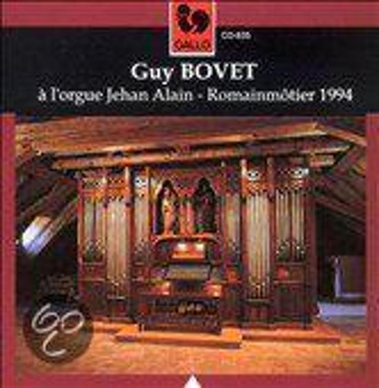 Guy Bovet a l'orgue Jehan Alain