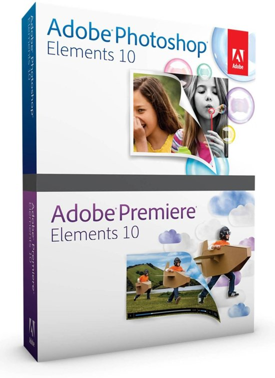 Adobe Photoshop Elements 10 + Premiere Elements 10 - Nederlands / WIN / 1 licentie