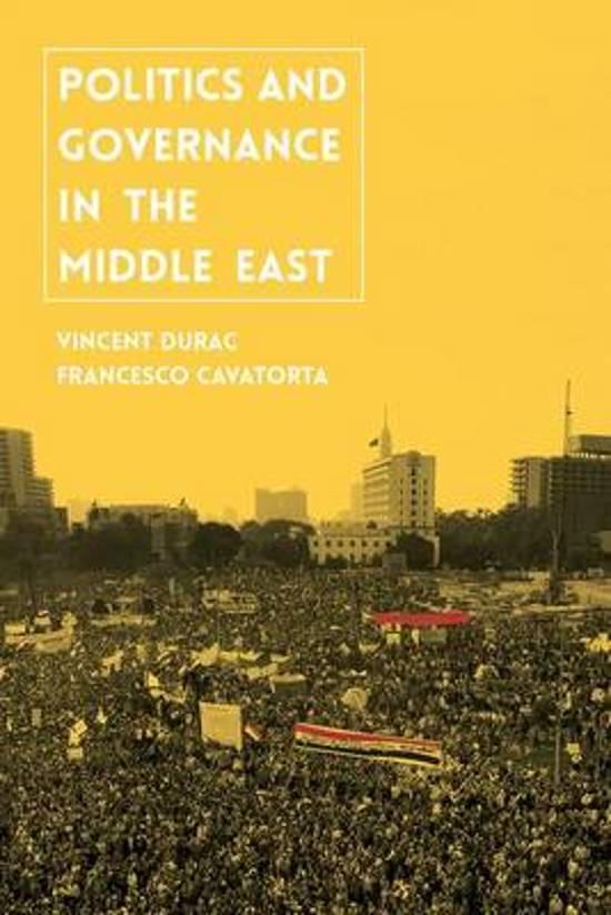 Boek cover Politics and Governance in the Middle East van Vincent Durac (Paperback)