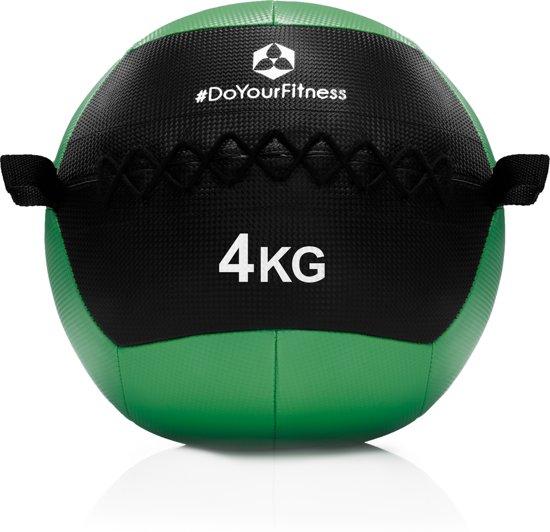 #DoYourFitness® - Wall-ball / gewicht bal »Adria« van 2kg tot 10kg - medicijnbal met een ant-slip oppervlak, ideaal voor duurtraining, Crossfit, core-workout - 4kg
