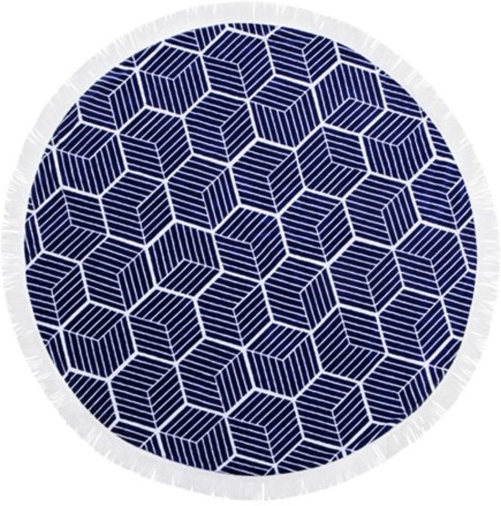 Geometric Roundie Doek | 100% Polyester | 150 x 150 cm | Fashion Accessoire/Home Deco/Musthave