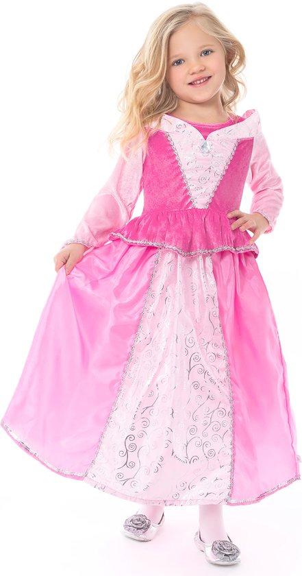Doornroosje jurk - maat 128/140