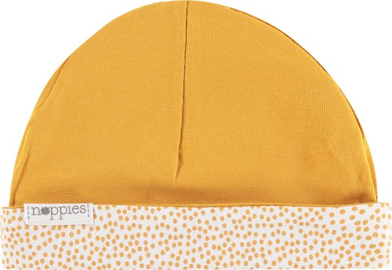 Noppies Kindermuts Babylon - Honey Yellow - Maat 0M-3M