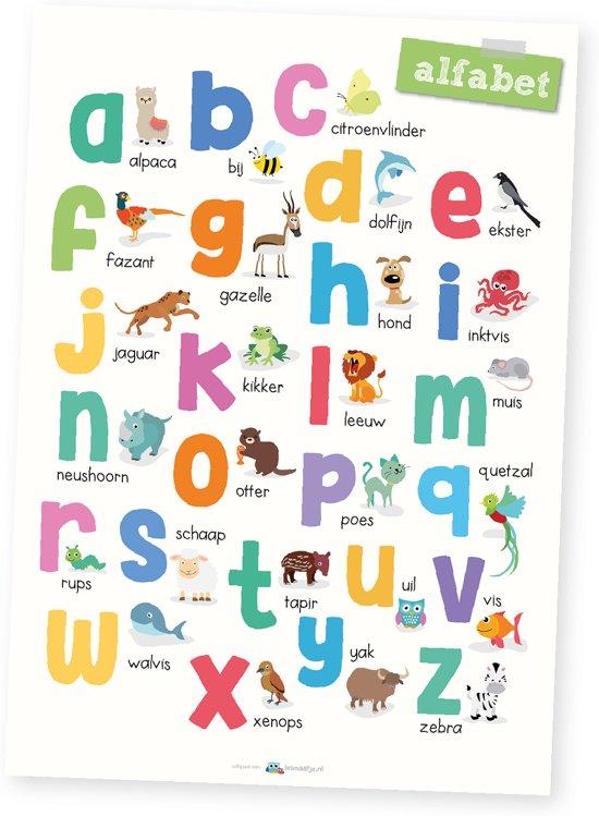 poster   ABC Alfabet