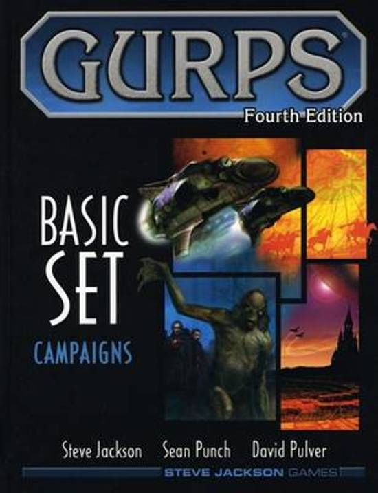 Gurps Basic Set Campaigns RPG