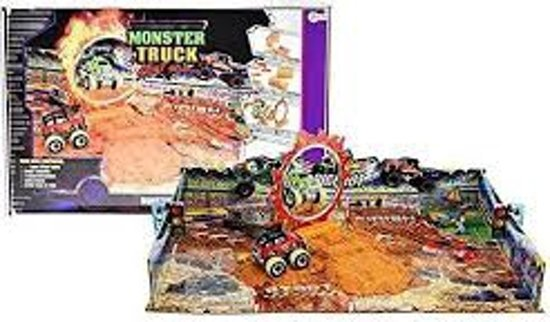 Monstertruck stunt arena