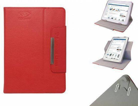 Storage Options  Scroll 7d Diamond Class Cover, 360° Draaibare Hoes, Luxe Case, Kleur Rood, merk i12Cover