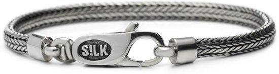 SILK Jewellery Armband zilver 'Shiva' 19 cm 332
