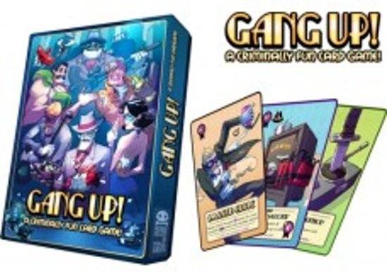 Gang-Up! - Criminally Fun - kaartspel