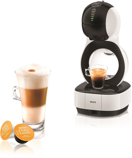 krups nescaf dolce gusto lumio kp1301 wit koffiecupmachine. Black Bedroom Furniture Sets. Home Design Ideas