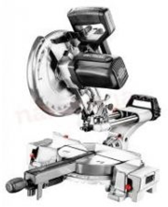 Graphite 59G812 Afkortzaagmachine met Onderstel 1800W