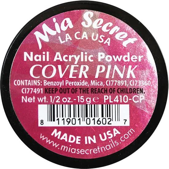 Cover Acryl Poeder Pink