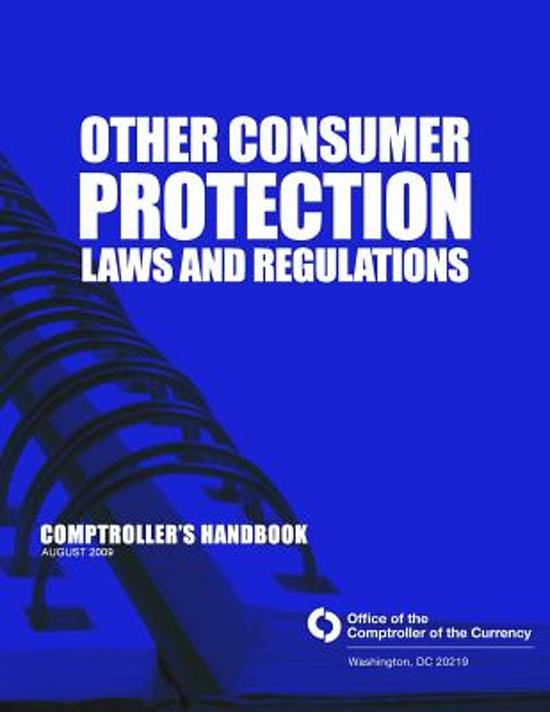 Other Consumer Protection Laws and Regulation
