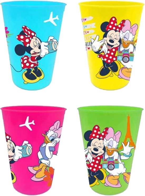 Disney Minnie Plastic-bekers - Maat One-size