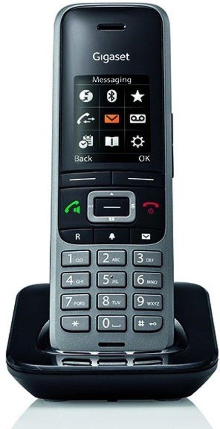 Gigaset S650H Pro - Losse handset (geen basisstation) - Zwart
