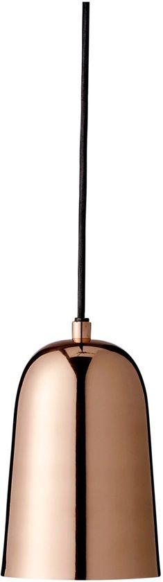 bol bloomingville hanglamp metaal koper finish kabel