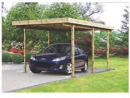 Garage Met Overkapping : Bol.com carport veranda overkapping garage tuinoverkapping