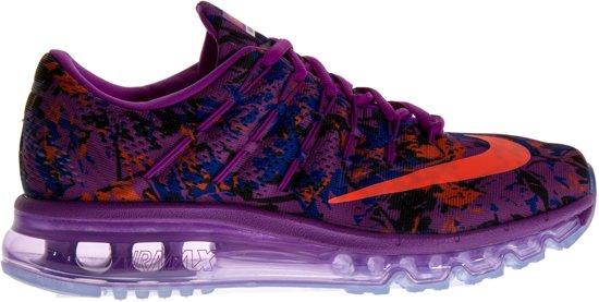 Nike Air Max 2016 Print Sneakers Dames Sportschoenen Maat 37.5 Vrouwen paarsoranjeblauw