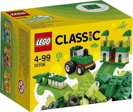 LEGO Classic Groene Creatieve Doos - 10708