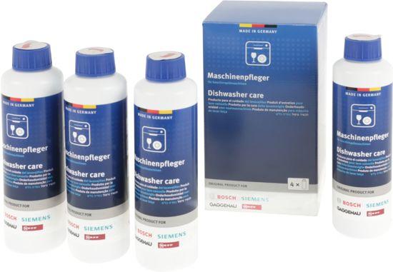 Bosch / Siemens Vaatwasser reiniger - 4x 250 ml - 4 voor de prijs van 3