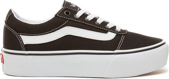 bol.com | Vans Ward Platform lage dames sneaker - Multi ...