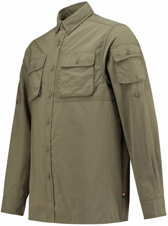 Anti Long Guide Heren Sleeve Shirt Life Insect line qXz844