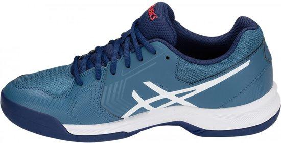 Asics Gel Dedicate 5 Indoor tennisschoenen heren blauwwit
