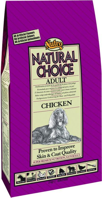 Nutro Choice Dog Adult Hondenvoer - Kip/Rijst - 12 kg