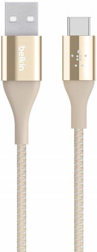 Belkin DuraTek™ 1.2m USB-C naar USB-A kabel - Goud