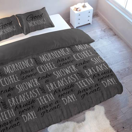 Nightlife Dekbedovertrek Morning Antra - Lits-jumeaux (240x200/220 cm)