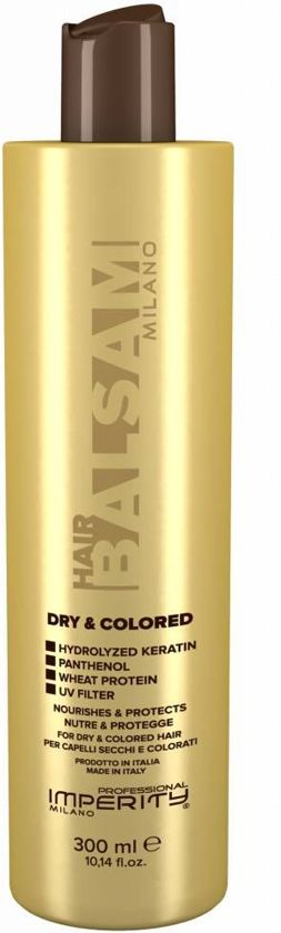 IMPERITY Milano Dry And Colored Hair Balsam, 300ml