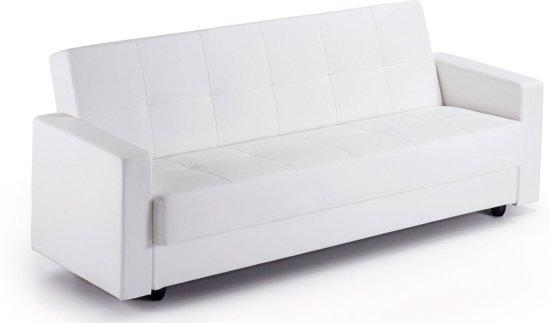 Moderne Witte Slaapbank.Bol Com Rumba Slaapbank Wit Laforma