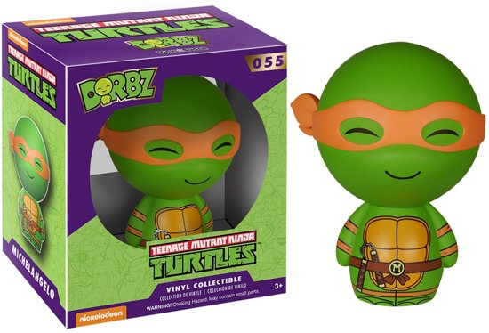 Ninja Turtles Slaapkamer.Bol Com Funko Dorbz Teenage Mutant Ninja Turtle Michelangelo