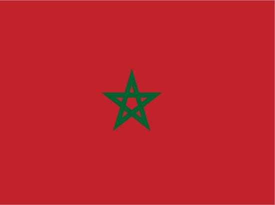 Vlag Marokko  90 x 150 cm