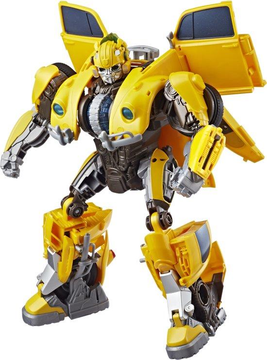 Transformers Bumblebee Power Charge Feature Hero - Actiefiguur
