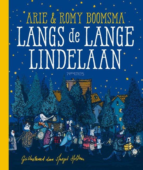Boek cover Langs de Lange Lindelaan van Arie Boomsma (Hardcover)