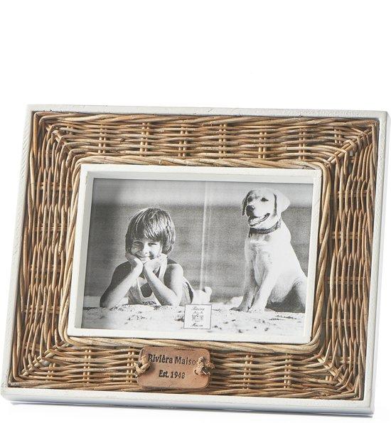 Fotolijst Riviera Maison.Riviera Maison Rr Rm 1948 Photo Frame 18x13 Fotolijst Naturel Wit Rattan Hout
