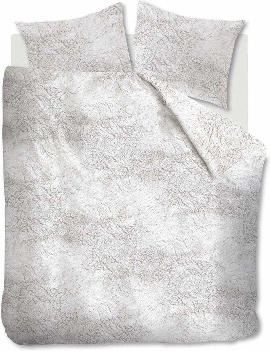 At Home Soft - Dekbedovertrek - Eenpersoons - 140x200/220 cm - Wit