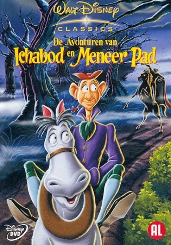 Cover van de film 'De Avonturen Van Ichabod En Meneer Pad'