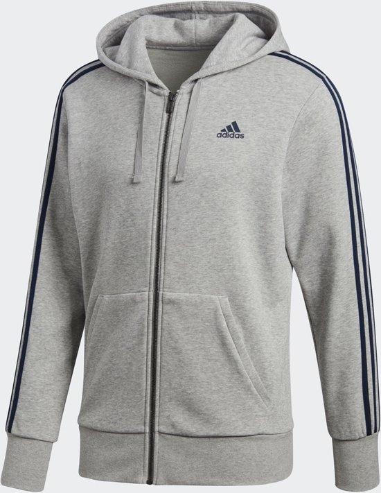e429b7159a8 bol.com | adidas Essentials 3Stripes Full Zip Hoodie Heren - Medium ...